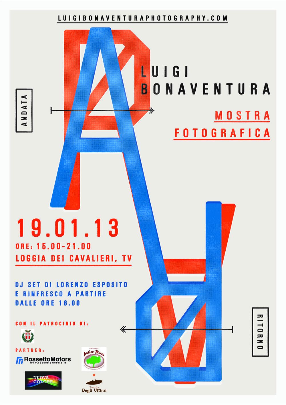 """""""ANDATA / RITORNO"""", JANUARY 2013  LOGGIA DEI CAVALIERI, TREVISO  ITALY"""