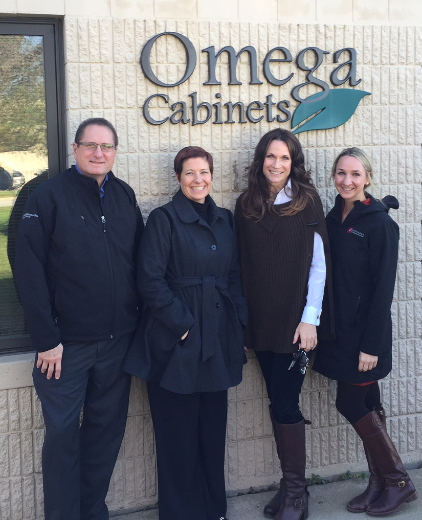 Kitchen and Bath Store Team Visits Omega Cabinetry in Waterloo