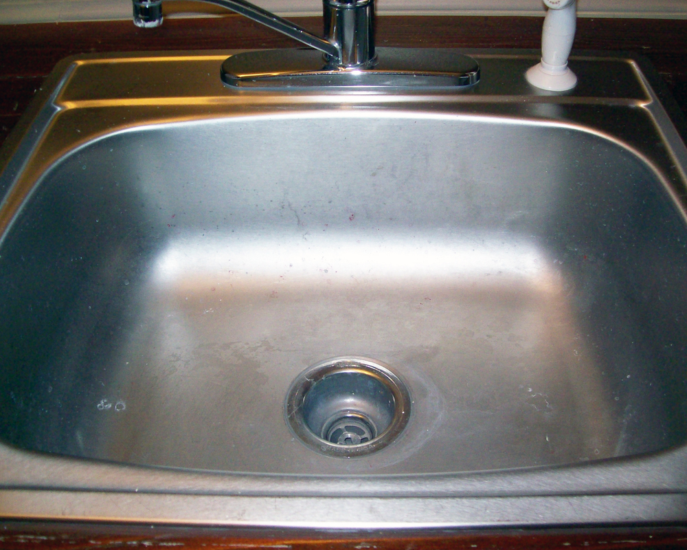 Make your stainless steel sink shine — Gerhard\'s Kitchen & Bath Store