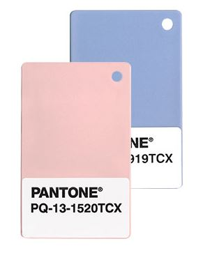 Pantone 2016 Color of the Year: 13-1520 Rose Quarts & 15-3919 Serenity