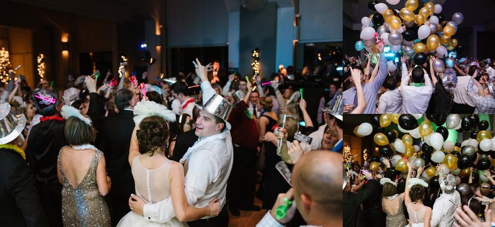 Chestnut Ridge Country Club New Year's Eve wedding, balloon drop .jpg