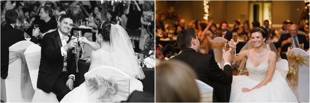 Chestnut Ridge Country Club New Years Eve wedding toasts, M.Fisher.jpg
