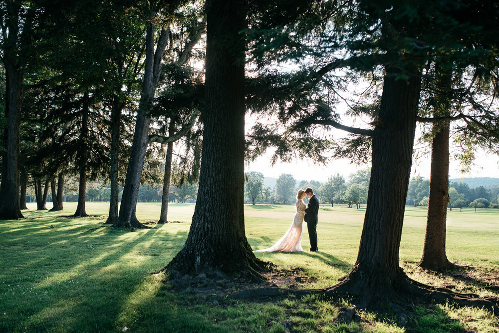 Laurel Highlands Wedding Bridal Portrait
