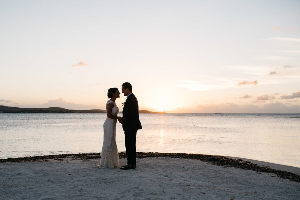 Jumby Bay Antigua Travel Destination Wedding Photograph