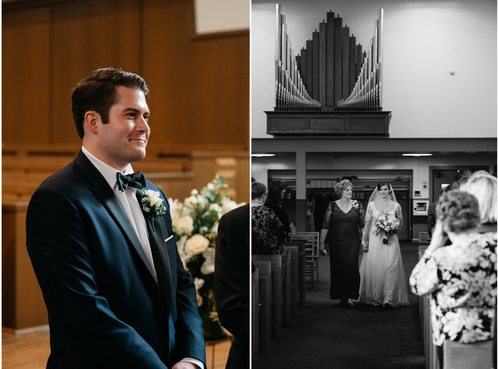 first look at church mariah fisher pittsburgh wedding photographer.jpg