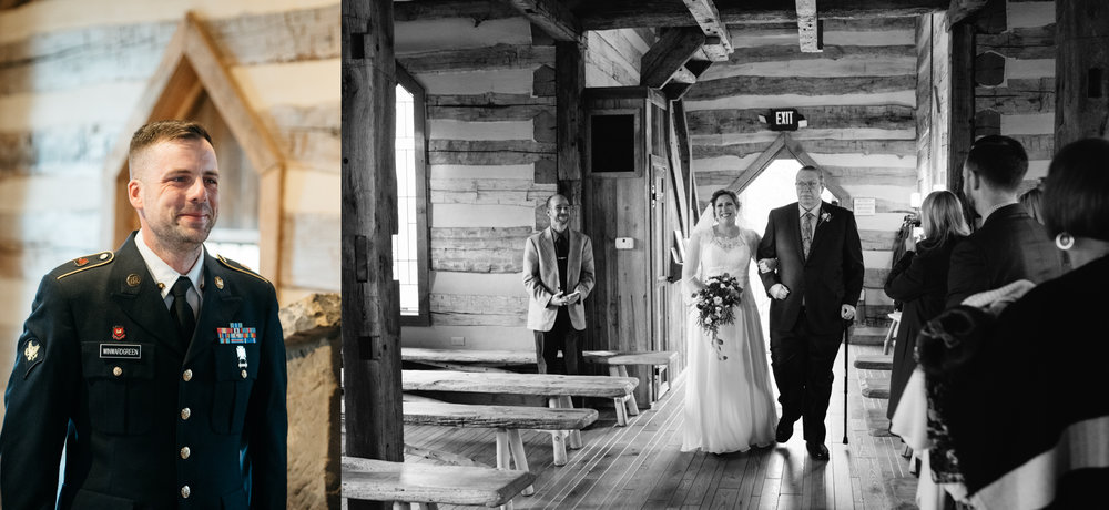 Oak Lodge wedding ceremony, elopement, Pittsburgh Wedding Photographer Mariah Fisher.jpg