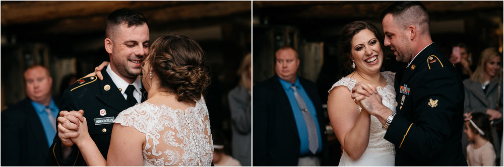 oak lodge wedding first dance mariah fisher photography pittsburgh photographer.jpg