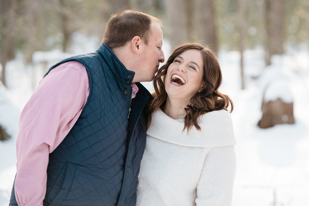 Linn Run Engagement Photos Ligonier Photographer