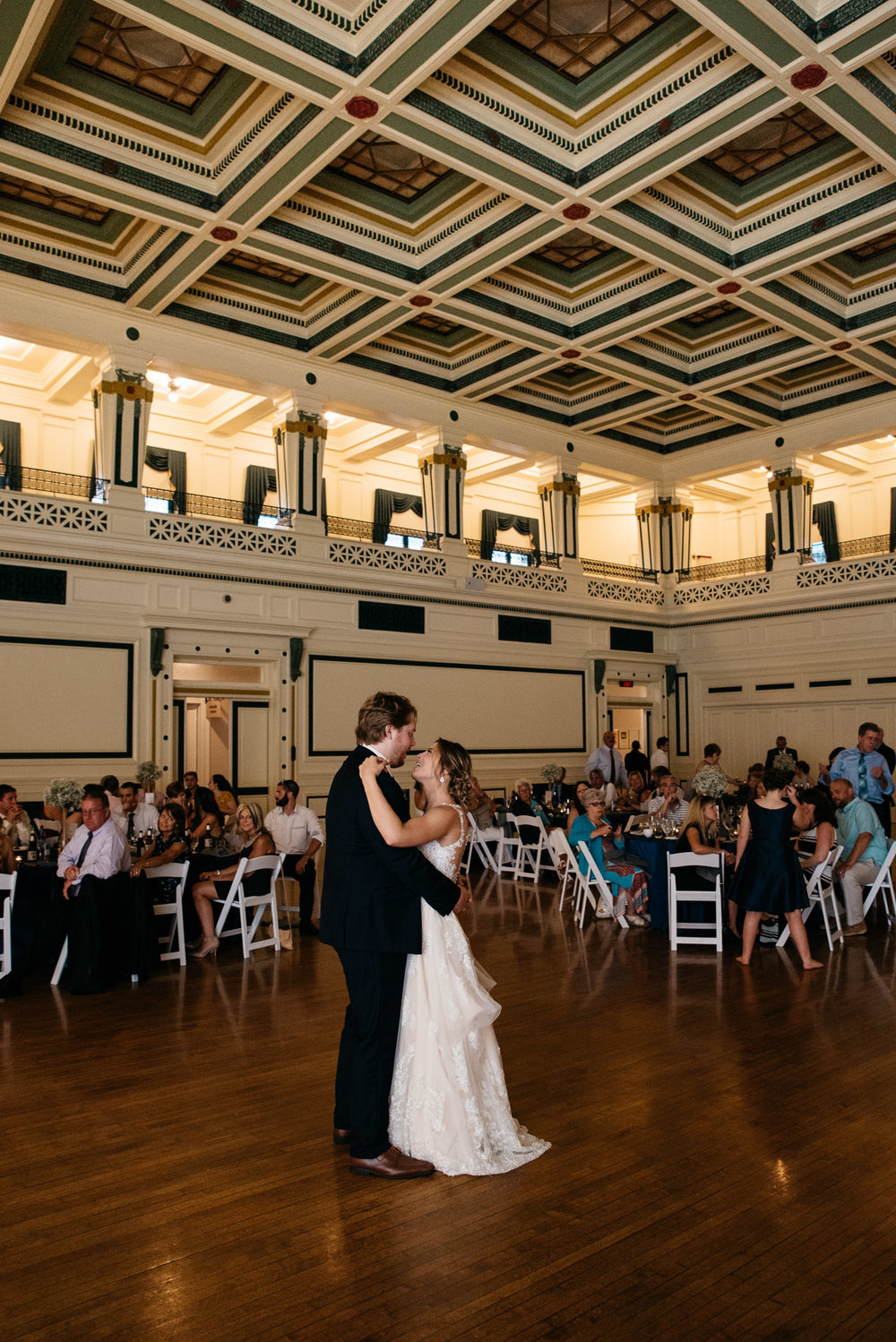 soldiers and sailors museum wedding venue first dance pittsburgh wedding photographer-0886.jpg
