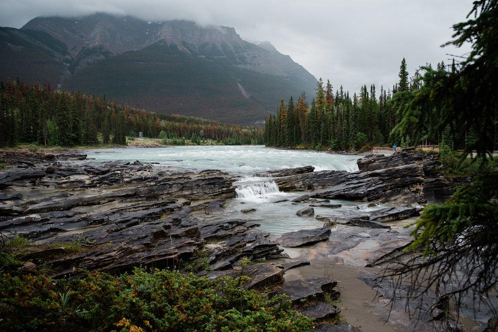 Athabasca Falls, Jasper , Canada, Mariah Fisher Photography-2270.jpg