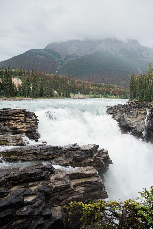 Athabasca Falls, Jasper , Canada, Mariah Fisher Photography-2273.jpg