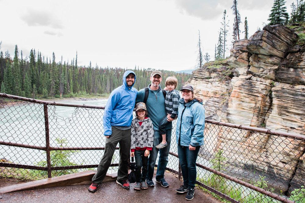 Athabasca Falls, Jasper , Canada, Mariah Fisher Photography-2309.jpg