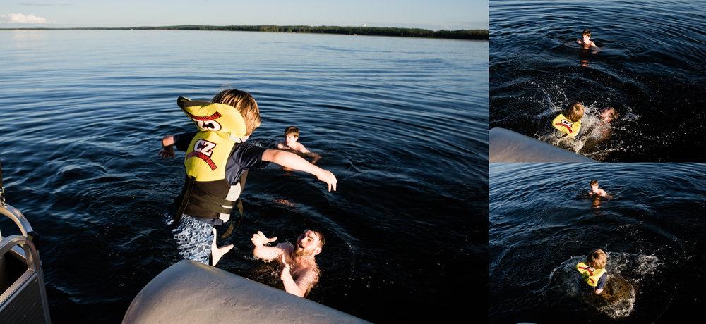 Drowning Uncle Craig, Lac La Nonne.jpg