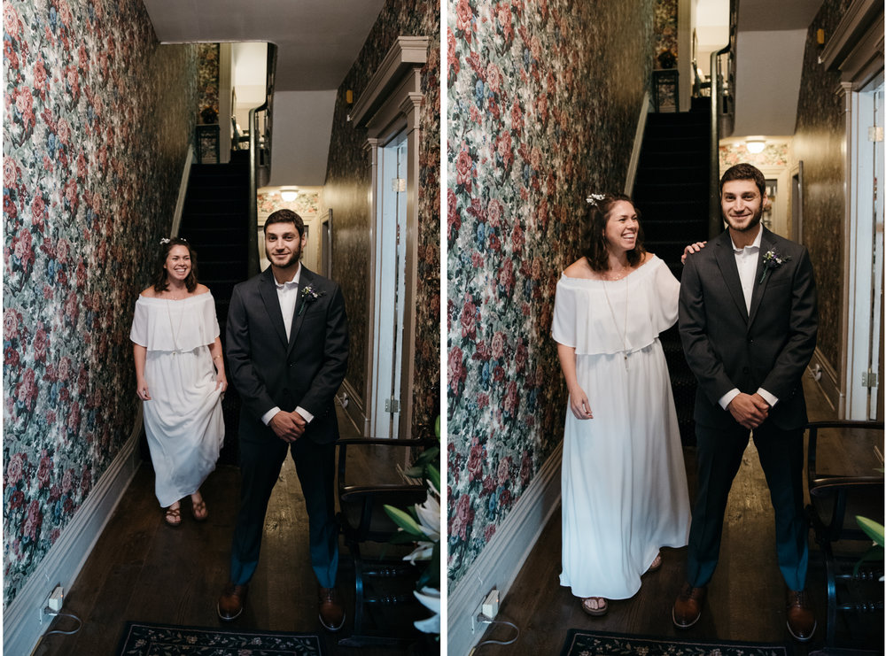 Morning Glory Inn Wedding, first look Pittsburgh wedding photographer.jpg