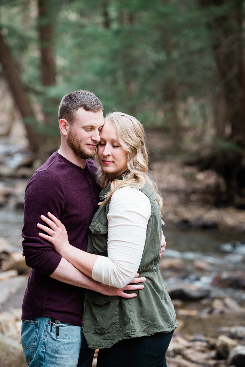 Pittsburgh PA Wedding Photographer, Linn Run engagement Session, Ligonier PA Mariah Fisher Photography (2 of 3).jpg
