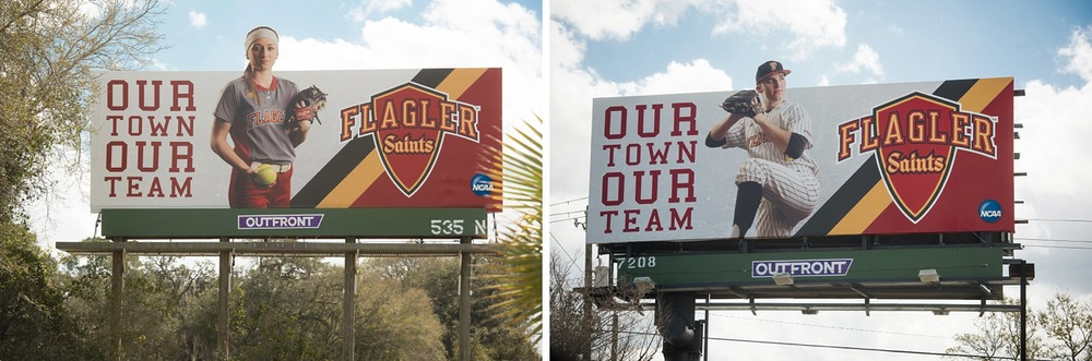 Flagler Athletics Billboard Marketing