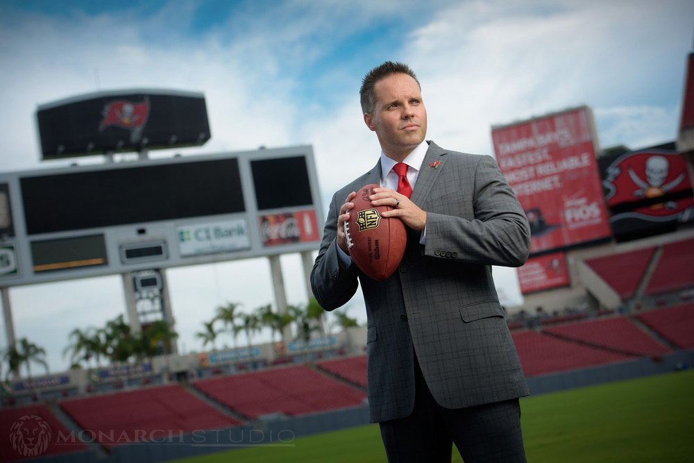 Tampa Bay Editorial NFL portrait photography