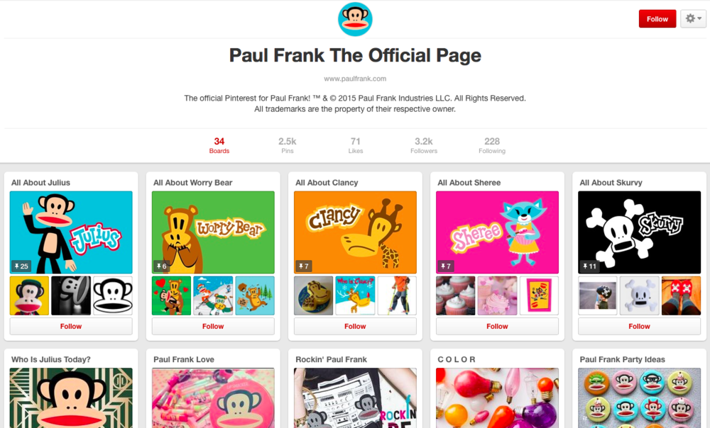 Paul Frank on Pinterest