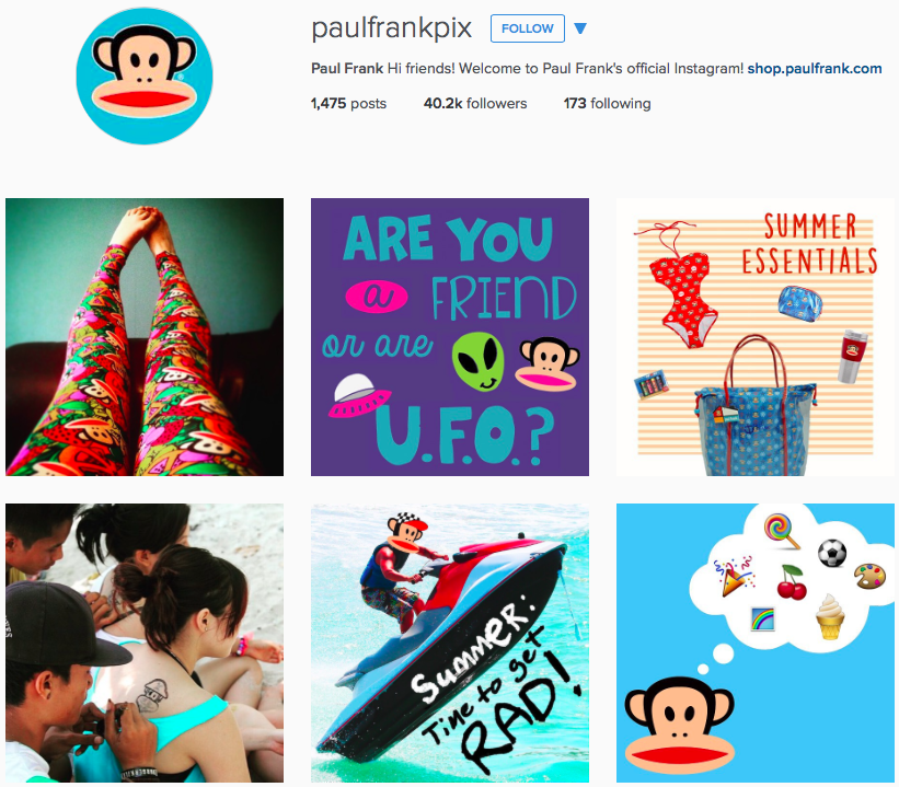Paul Frank on Instagram