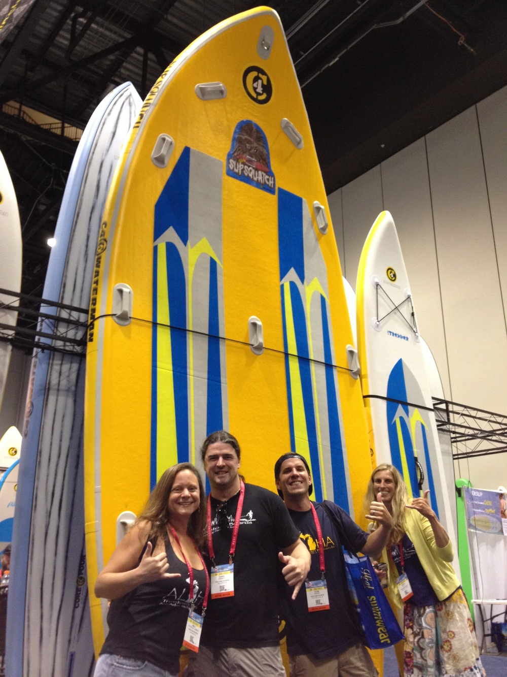 The Treetown Hui with Supsquatch (Surf Expo Orlando, 2015)