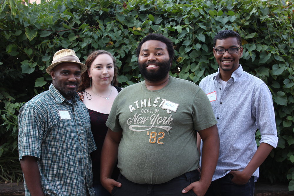 Bubble Brunches  Project Leaders: Mario Brooks, Caleb Thomas, Cierra McCurtry, Ben Banks  This series of brunches aims to inspire marginalized communities to take small but powerful actions, and to engage with what is going on outside of their bubbles. At the end of each Bubble Brunch, guests will leave with an idea for a community service project to implement within 3 weeks. They will leave with new contacts within their own communities, along with contacts from the broader community, that they will immediately rely on to accomplish their service project. They will create unity with communities that are not their own through acts of service for one another.