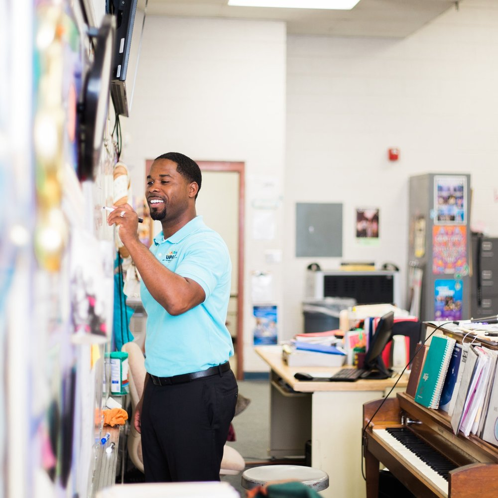 The UNITY Project    Project Leader: Marcellus Barnes  The UNITY Project seeks to fill those crucial after-school hours when students typically find trouble because of boredom, working parents, and peer pressure. They realize that since many of our schools no longer have arts educators, students who are not interested in sports do not have an outlet to learn a skill and showcase their talents. The UNITY Project offers high quality voice and music lessons to underserved youth in Orchard Knob, Tyner, and Brainerd who would not otherwise get the chance to explore their talents.
