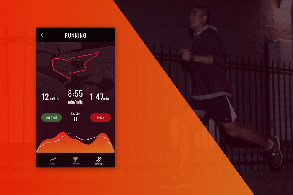 Day 3, Running app