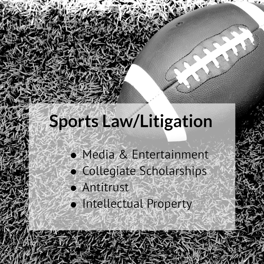 Our firm has brought groundbreaking litigation on behalf of NCAA student athletes. We also have experience in other areas of sports law including individual and class action litigation involving media and entertainment, collegiate scholarships, antitrust, and intellectual property. Read more.