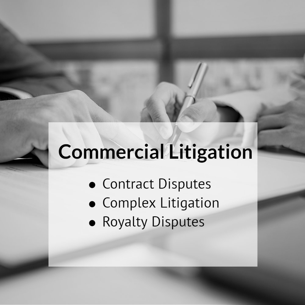We have experience handling complex commercial disputes, including contract disputes, on behalf of individuals and businesses. In such cases, we are often able to uncover non-contractual legal theories that may lead to recoveries in excess of contractual damages. Read more.