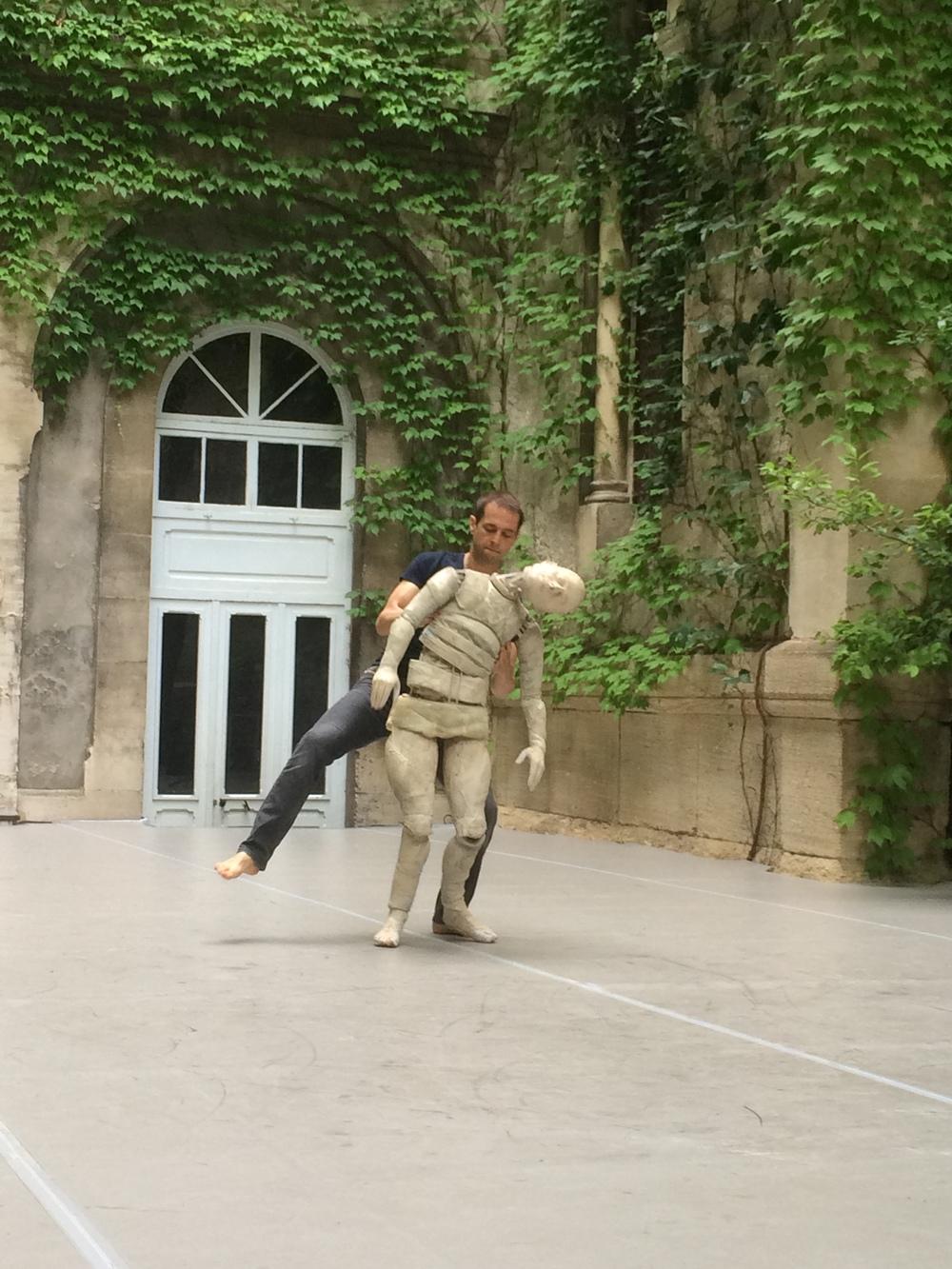 LA VIE DES FORMES - Sujet à vif 2016  coproduction SACD - Festival d'Avignon