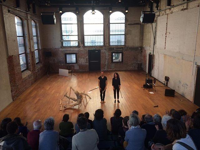 Merci au Théâtre Garonne - Toulouse pour son chaleureux accueil ce week-end. La vie des formes avec Célia Houdart.