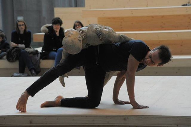 Iceberg au Musée d'Art Moderne et Contemporain de Strasbourg, avec Grégory Dargent au oud