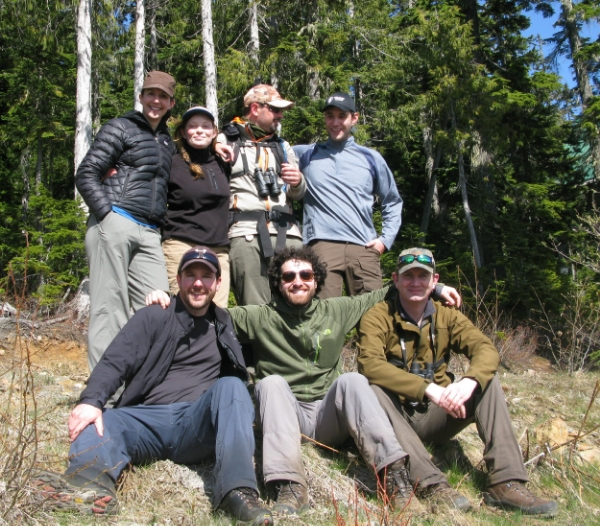 The 2015 Marmot Recovery Foundation Field Crew