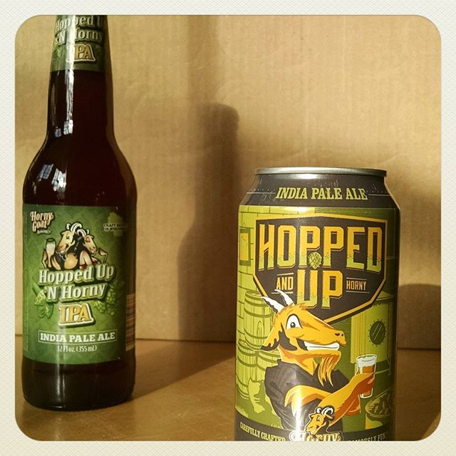 "From ""Hopped Up 'N Horny"" to ""Hopped Up and Horny"" this IPA has changed more than just its name since 2009. Guess what day we first packaged this brew? The closest guess will win a 6 pack (fresh, not from 2009)."