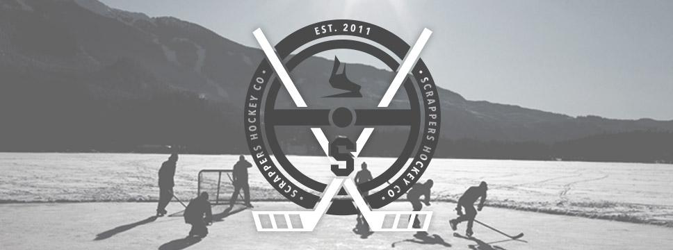 Scrappers Hockey Tee Shirt Crest