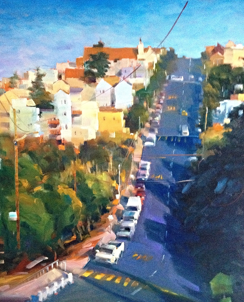 POTRERO HILLS/ AVAILABLE AT EDWARD MONTGOMERY FINE ART GALLERY