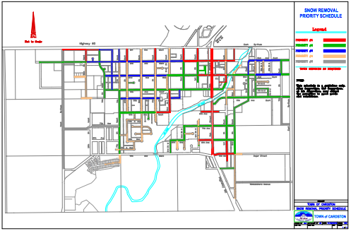 Snow Removal Priority Schedule (Map - PDF)