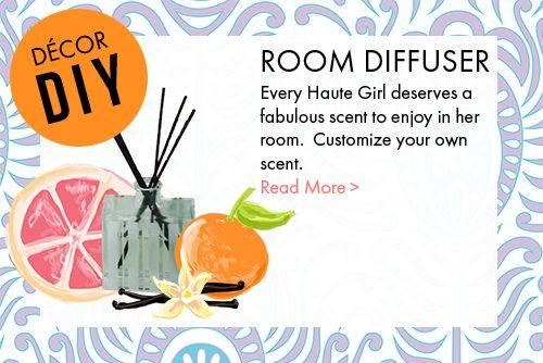 DIY room diffuser