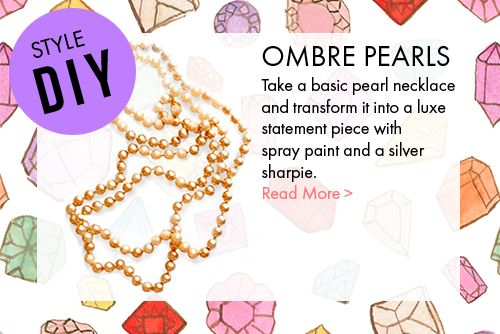 Do it yourself Ombre Pearls