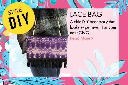 Do it yourself Lace Bag