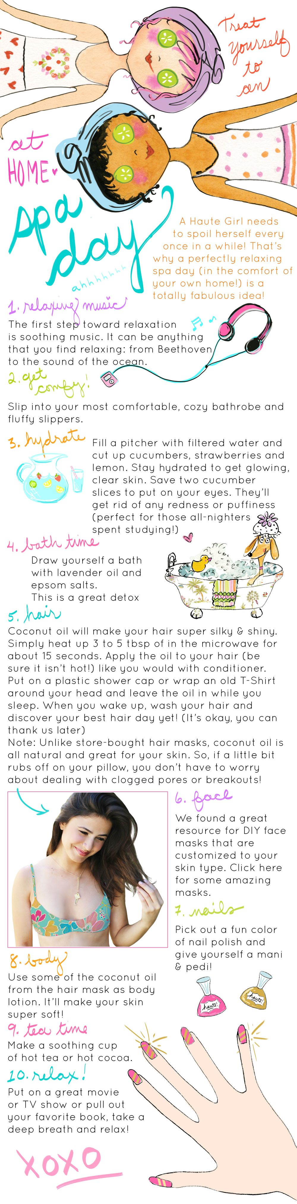 DIY Spa Day