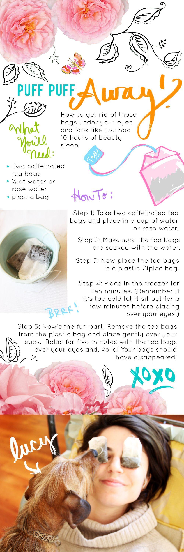DIY Under Eye Bag Remover