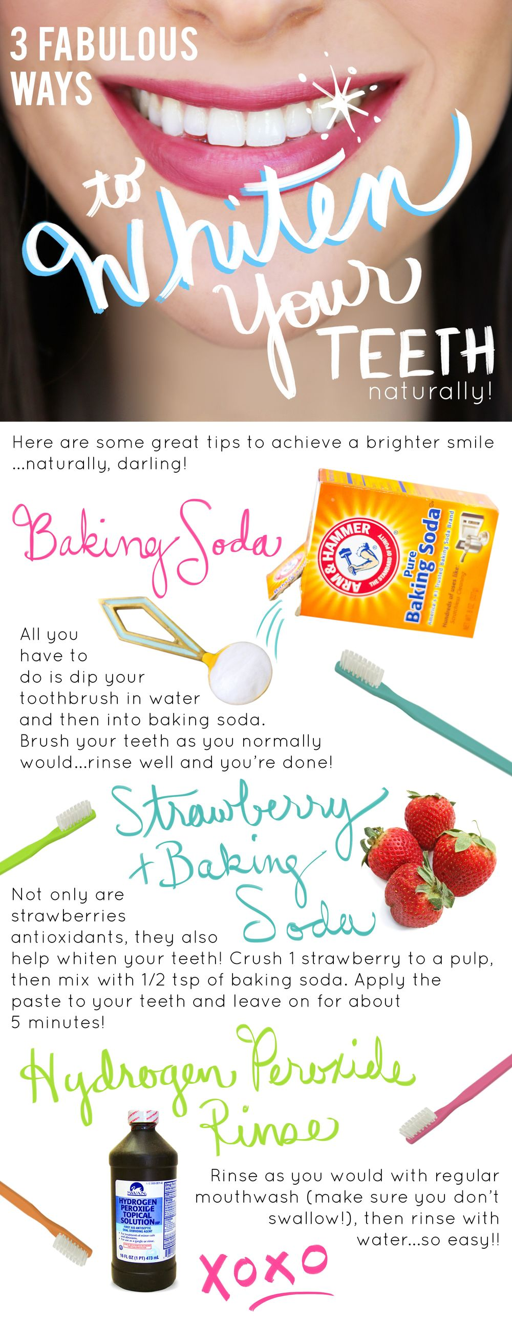 DIY Natural Teeth Whitening