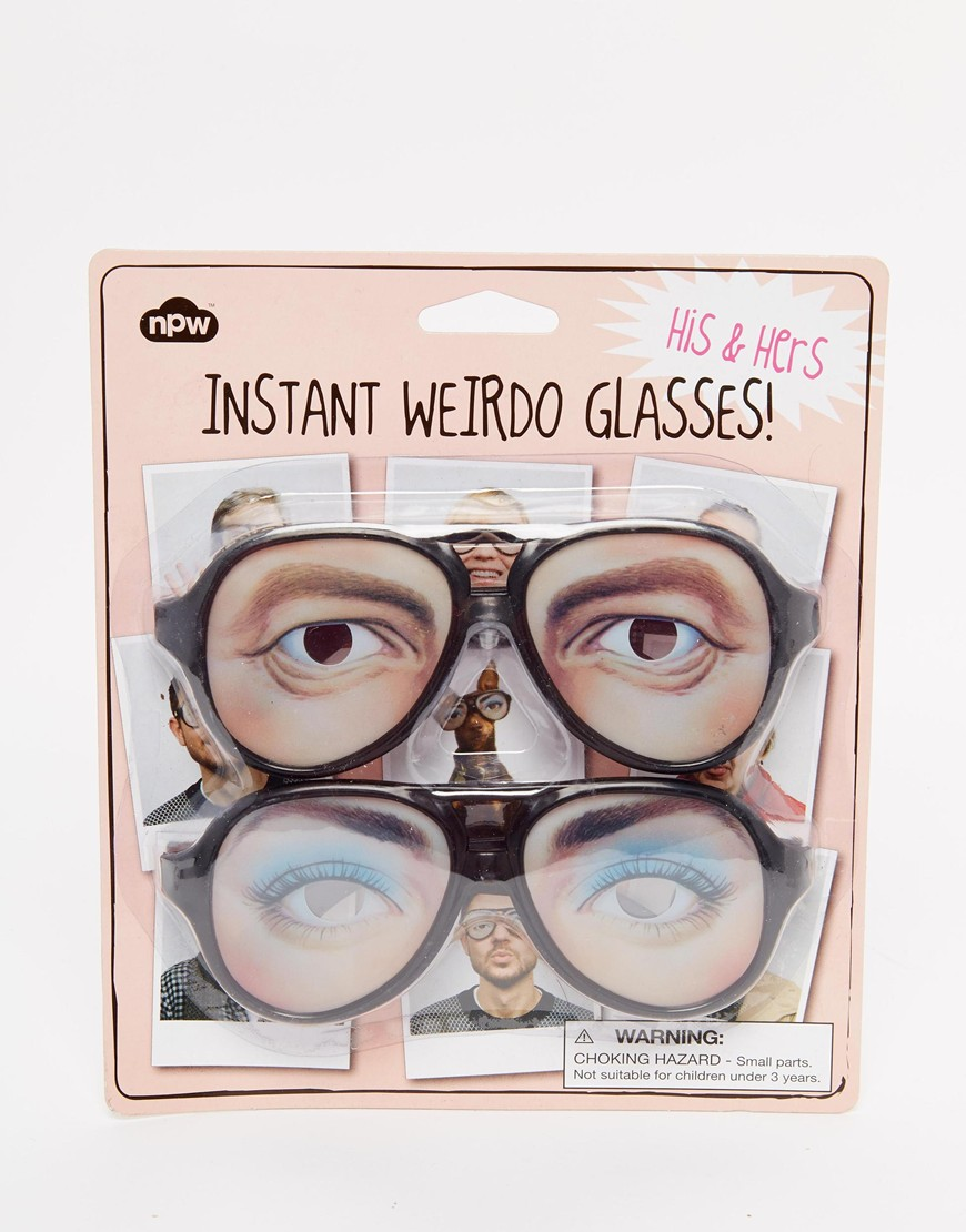 His & Hers Instant Weirdo Glasses, $8.50
