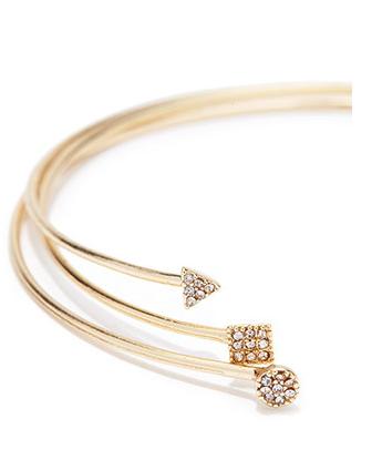 Gold Bracelet Cuffs, $7.90