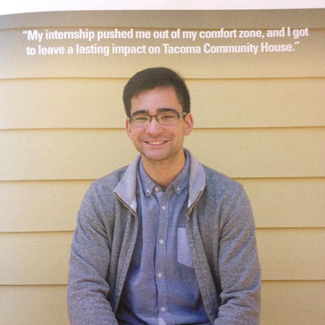 Congratulations to Austin Colburn for being recognized in this years President's Annual Report for his work at the Tacoma Community House through the Summer Immersion Internship Program. Proud of you Austin! #saepugetsound