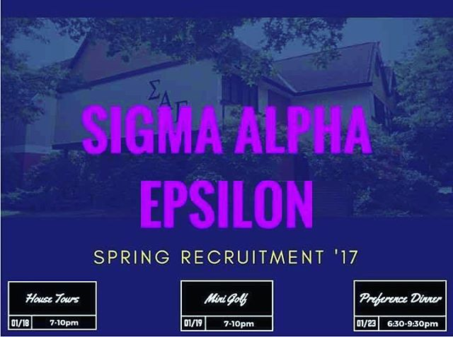 Recruitment week has finally arrived! We are stoked to meet some near potential members! #saepugetsound