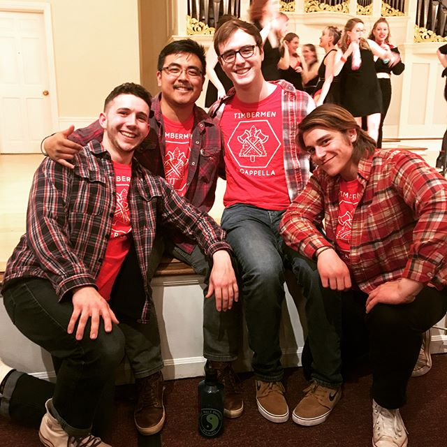 Check out all the cool stuff our brothers were involved in this weekend! Shoutout to Jayce, Alex, and Wyatt in their A cappella concert and Ray and Chris for organizing Relay for Life. Thanks to @pugetsoundpiphi  and @gphibpugetsound for two amazing formals, and @upstridelta for a fun and paint-filled mixer. And a huge congrats to our seniors @hnicolais and Mark for their last logger lax game #SAE #WAGamma #rolllogs