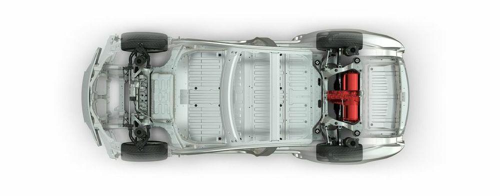 RWD Model S  Photo: Tesla