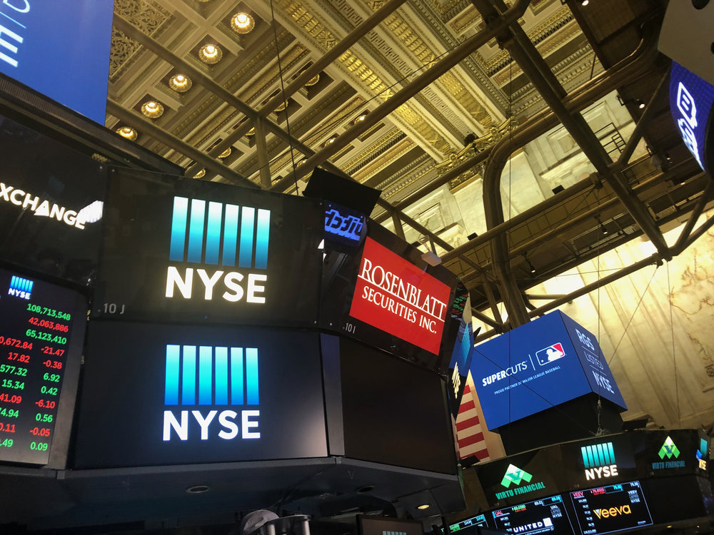 New York Stock Exchange [10:15 March 21, 2018]